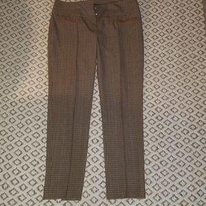 Etcetera plaid trouser size 10